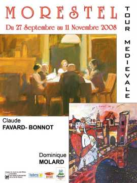 Claude FAVARD-BONNOT et Dominique MOLARD - Tour Medievale